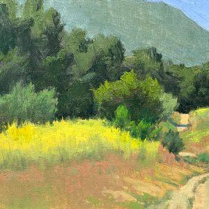 Mustard in Malibu Creek